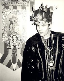 Andy Warhol, Photograph of Corey Haye in Costume circa 1980s