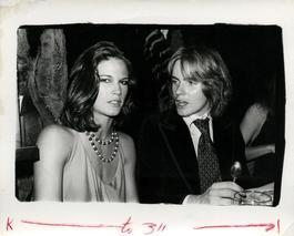 Andy Warhol, Photograph of Barbara Allen and an Unidentified Man, circa 1978