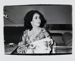 Andy Warhol, Photograph of Elizabeth Taylor, circa 1979-1980