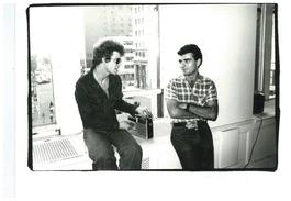Andy Warhol, Photograph of Lou Reed and Ronnie Cutrone circa 1976