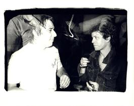 Andy Warhol, Photograph of John Cale and Lou Reed at the Ocean Club, 1976