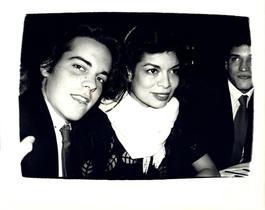 Andy Warhol, Photograph of John Stockwell and Bianca Jagger circa 1980