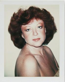 Andy Warhol, Polaroid Photograph of Regine (Zylberberg), 1977