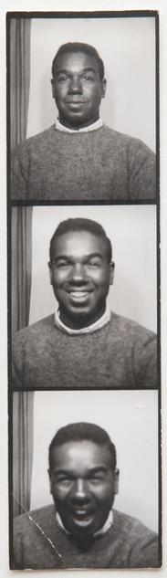 Bobby Short (photobooth strip)