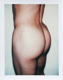 Andy Warhol, Sex Part, Polaroid, 1977