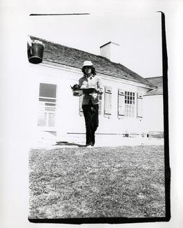 Mick Jagger (serving tea in Montauk)