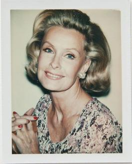 Andy Warhol, Polaroid Photograph of Dina Merrill, 1976