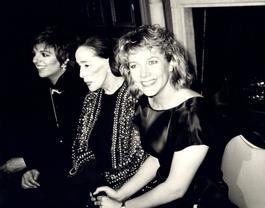 Andy Warhol, Photograph of Liza Minnelli, Martha Graham and Kathleen Turner