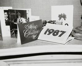 Andy Warhol, Photograph of Holiday Cards, 1986