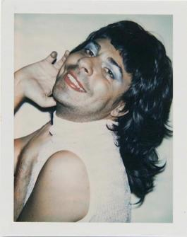 Andy Warhol, Polaroid Photograph of Bob Colacello in Drag, 1973