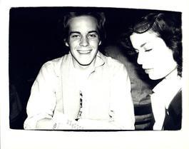 Andy Warhol, Photograph of John Stockwell and Bianca Jagger circa 1978