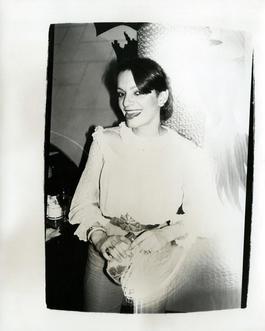 Andy Warhol, Photograph of Anne Lambton, circa 1978