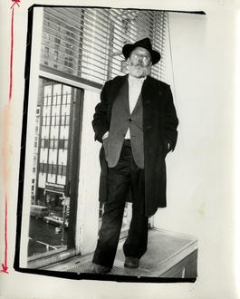 Andy Warhol, Photograph of Henry Geldzahler, circa 1979