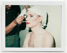 Andy Warhol, Self-Portrait in Drag (Andy Warhol in Drag), 1981