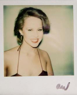 Andy Warhol, Polaroid Photograph of Linda Blair, 1975