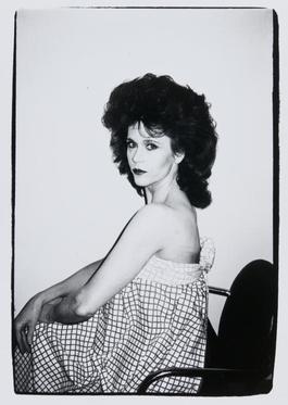 Andy Warhol, Photograph of Jane Fonda, 1982