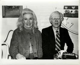 Andy Warhol, Photograph with Ginger Rogers circa 1980