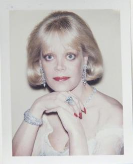 Andy Warhol, Polaroid Photograph of Candy Spelling, 1985