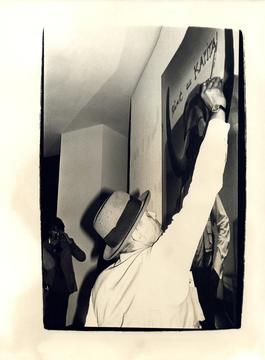 Andy Warhol, Photograph of Joseph Beuys, 1980