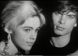 Andy Warhol, Screen Test of Edie Sedgewick and Kipp Stagg, 1966