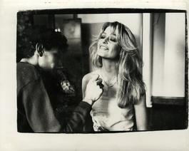Andy Warhol, Photograph of Farrah Fawcett Majors, circa 1979