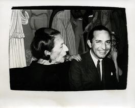 Diana Vreeland & Fred Hughes