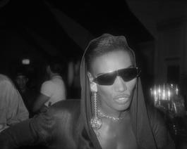 Grace Jones with Sunglasses