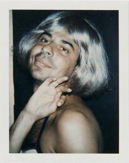Andy Warhol, Polaroid Photograph of Bob Colacello in Drag, 1974
