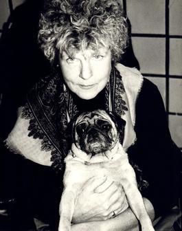 Andy Warhol, Photograph of Brigid Polk (Berlin) circa 1980s