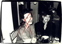 Andy Warhol, Photograph of Suzie Frankfurt and a Woman, 1970s