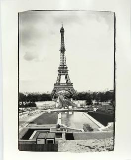 Andy Warhol, Photograph of Eiffel Tower in Paris