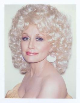 Andy Warhol, Polaroid Photograph of Dolly Parton, 1985