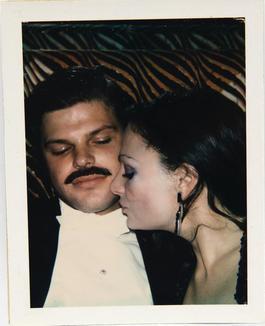 Andy Warhol, Polaroid Photograph of Diane & Egon von Furstenberg