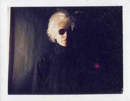Polaroid Photograph of Self-Portrait with Fright Wig