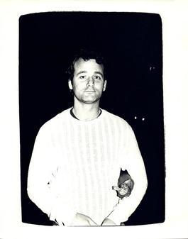 Andy Warhol, Photograph of Bill Murray circa 1981