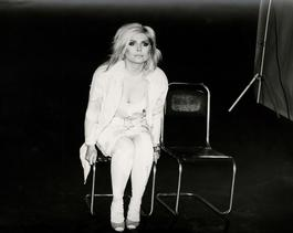 Andy Warhol, Photograph of Debbie Harry (Blondie) Seated, 1985