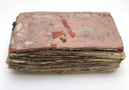 Purvis Young, Untitled Pink Book circa 1990