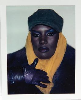 Andy Warhol, Polaroid Photograph of Grace Jones