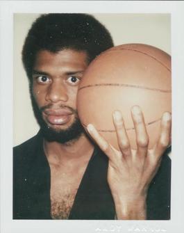 Polaroid Photograph of Kareem Abdul-Jabbar