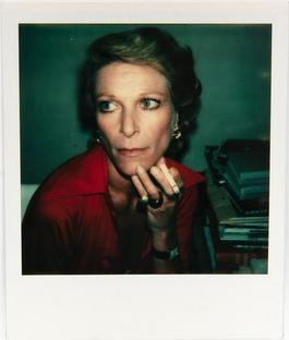 Polaroid Photograph of Nan Kempner