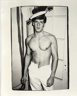 Andy Warhol, Photograph of Male Model