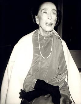 Andy Warhol, Photograph of Martha Graham, 1986