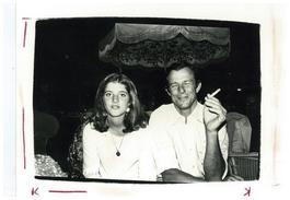 Andy Warhol, Photograph of Caroline Kennedy and Peter Beard circa 1975