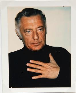 Andy Warhol, Polaroid Photograph of Gianni (Giovanni) Agnelli, 1972
