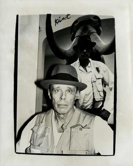 Andy Warhol, Photograph of Joseph Beuys, 1979