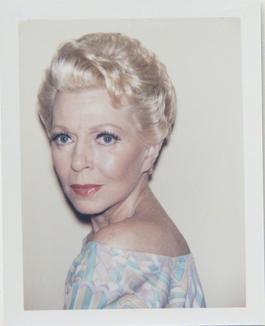 Andy Warhol, Polaroid Photograph of Lana Turner, 1985