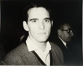 Andy Warhol, Photograph of Matt Dillion