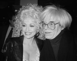 Andy Warhol and Dolly Parton