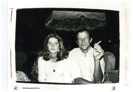 Caroline Kennedy with Peter Beard