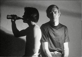 Andy Warhol, Screen Test of Archie and George with Coca Cola circa 1966